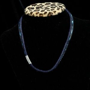 """Soft baby choker with beading 16"""""""